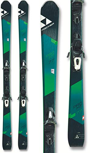 Fischer Pro MTN 77 Skis w/ RS10 GW Powerrail Bindings Mens Sz 171cm