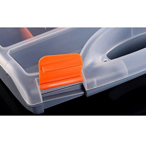 Kaiyu Kaiyu Kaiyu Cassetta portautensili in plastica Cassetta portautensili in Materiale elettronico (Dimensione   G380) | Il colore è molto evidente  | Premio pazzesco, Birmingham  | Design professionale  d804fd