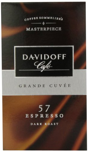 Davidoff Cafe Espresso 57 Ground Coffee, 8.8 Ounce Package