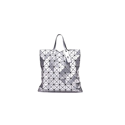 Messenger Silver Sacs Diamants épaule Cuir AJLBT Géométriques Sacs Sacs Main En Sacs Mesdames Verni à Laser XX0qZ8O