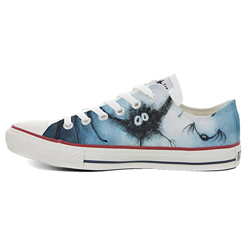 Converse All Star Customized - zapatos personalizados (Producto Artesano) BatConverse
