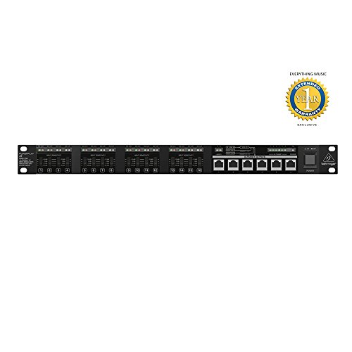 Behringer POWERPLAY P16-I 16-Channel 19'' Input Module with 1 Year EverythingMusic Extended Warranty Free by Behringer