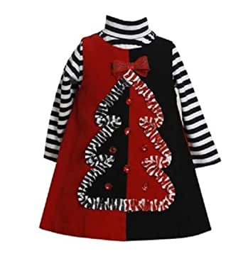 Amazon Com Bonnie Jean Girls Christmas Tree Corduroy