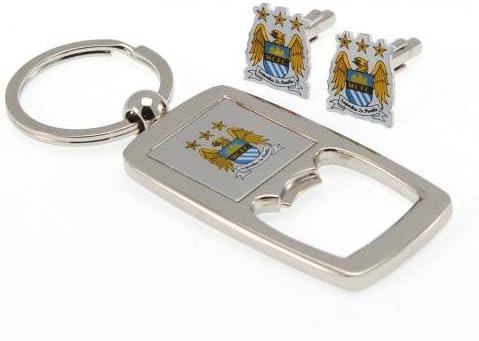 Manchester City F.C, de gemelos y juego de llavero abridor ...