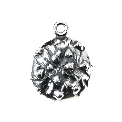 Sterling Silver 3D Chocolate Chip Cookie Charm Item #40595