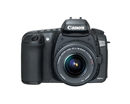 Amazon.com : Canon EOS 20D DSLR Camera with EF-S 18-55mm f/3.5-5.6 ...