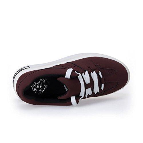 Caída casual zapatos de las muchachas/color sólido/cabeza redonda correa de los zapatos A