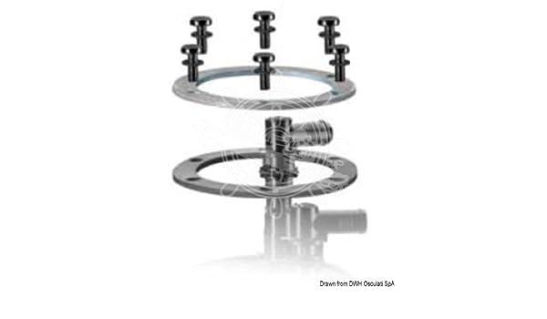 VDO Fuel Tank Fastening Seal x2 Metal Ring x2 Kit