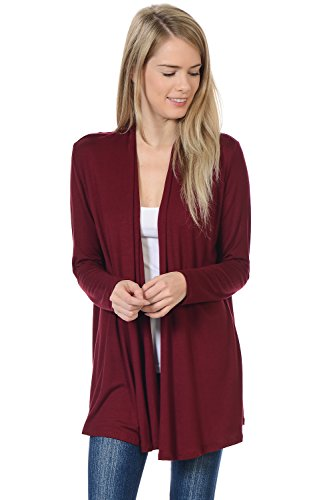 Pastel by Vivienne Women's Long Sleeve Jersey Cardigan Large - Long Wrap Cardigan Sleeve