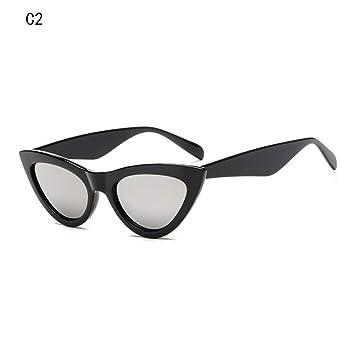 GAODGAS Gafas De Sol Triangulares para Mujer Gafas De ...