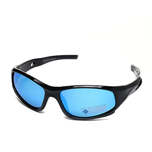 ffccee820a Sports Style Polarized Sunglasses Rubber Flexible Frame UV400 For Boys Girls  (Black black