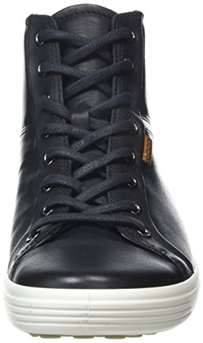 Ecco Le Donne Soft Vii High-top Fashion Sneaker Schwarz