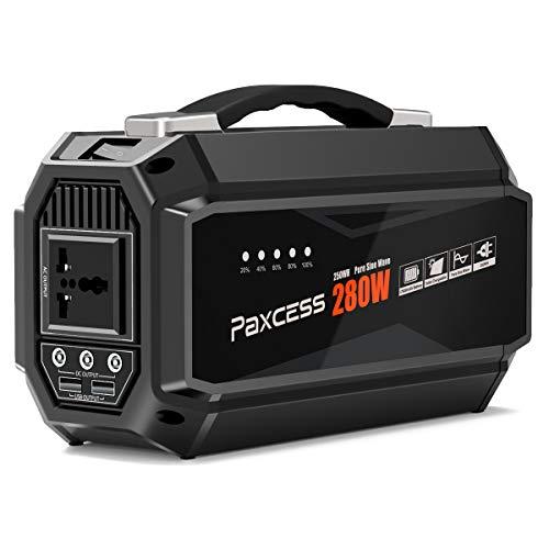 PAXCESS 280 Watt Portable Generator 67500mAh Lithium Portabl