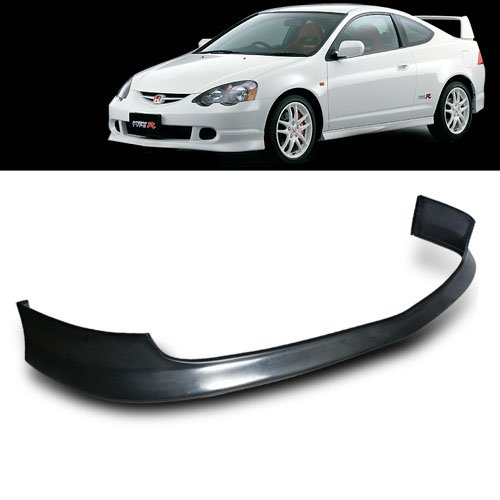 Acura Rsx Fiberglass (02-04 Acura RSX Type R Style PU (Poly Urethane) Front Bumper Lip)