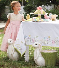 Captivating Easter Tablecloth