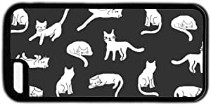Black And White Cats Pattern Theme Iphone 5c Case