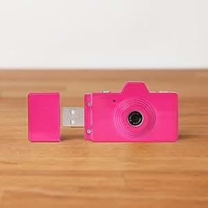 Cámara Superheadz USB Clap - Rosa elegante