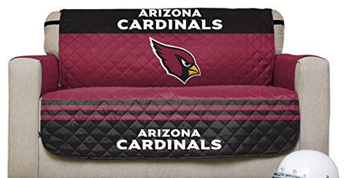 - NFL Arizona Cardinals Love Seat Reversible Furniture Protector with Elastic Straps, 75-inches by 88-inches