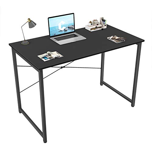 "Cubicubi Computer Desk 32"" Home Office Laptop Desk Study Writing Table, Modern Simple Style, Black"