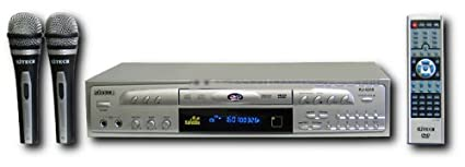 Rj Tech Rj-4200 Karaoke + 2 Microphones Multi Region Code Free DVD Player 110