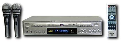 Rj Tech Rj-4200 Karaoke + 2 Microphones Multi Region Code Free DVD Player 110