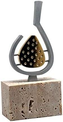 Trofeo Padel PACK de 2 Resina y Mármol 21 cm GRABADO Trofeos PERSONALIZADOS Pala de Padel