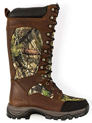 Field & Stream Men's 15 inch Waterproof Lace-up Snake Boots (Size: 13) FASRBM004 Mossy Oak Camo
