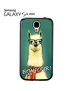 Llama Lama Bonjour Mobile Cell Phone Case Samsung Galaxy S4 Mini White