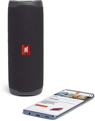 JBL FLIP 5 Waterproof Portable Bluetooth Speaker - Black [New Model] by JBL