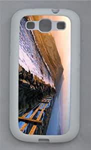 slim case sunrise mountain TPU White case/cover for Samsung Galaxy S3 I9300