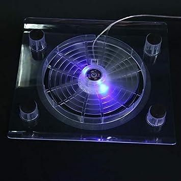 Laptop USB Ventilador de refrigeración por Aire LED Light Cooler ...