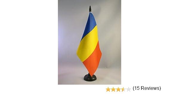 AZ FLAG Bandera de Mesa de Rumania 21x14cm - BANDERINA de DESPACHO ...