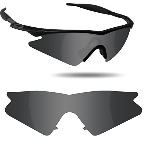 Fiskr Anti-Saltwater Replacement Lenses for Oakley M Frame Sweep Sunglasses - Various - Frames Oakley Lenses Without