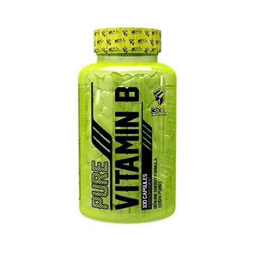 VITAMINA B 100 CÁPSULAS PURE VITAMIN B 3XL: Amazon.es: Alimentación y bebidas