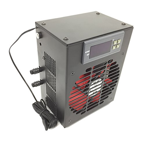 Morpheus Grow Tech 2 in 1 water chiller heater for hydroponics/aeroponics heating & chilling Reservoir Chiller
