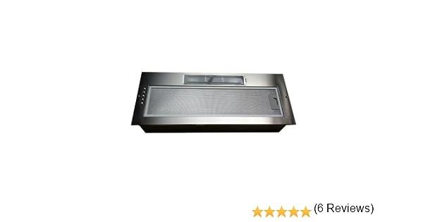 Campana extractora de cocina universal de 75 cm, con motor doble integrado: Amazon.es: Hogar