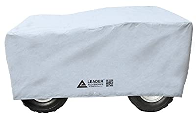 """Leader Accessories 100% waterproof 3 Layer Universal Fit All Weather Dust Proof ATV storage Cover Large Fits up to 82"""" Length"""