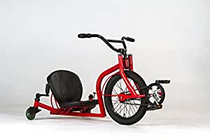 Leaux Racing Recumbent Trike (Red) - Individually Tested By Founder