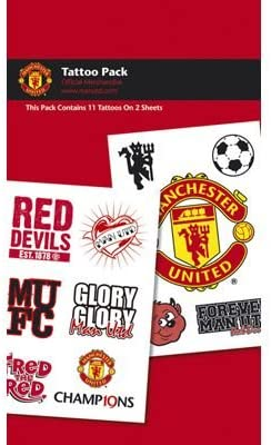 Manchester United Fc Red Devil Tattoo Pack Amazon Co Uk Sports Outdoors