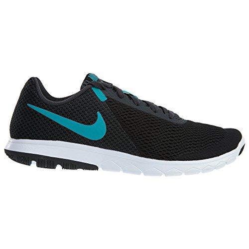 Nike Mens Flex Experience Rn 6 Scarpe Da Corsa Nere / Turbo Verde-antracite