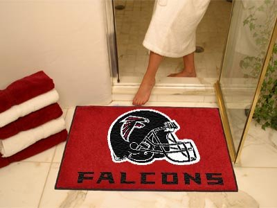 Fan Mats Atlanta Falcons Helmet All-Star Rug, 34