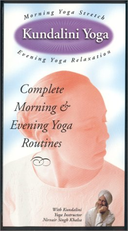 Kundalini Yoga: Morning Yoga Stretch/Evening Yoga Relaxation [VHS]