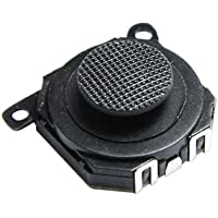 OSTENT 3D Button Analog Joystick Stick Repair Replacement Compatible for Sony PSP 1000 Console - Pack of 2