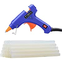 Hot Glue Gun, TopElek Mini Glue Gun Kit with 30pcs Glue...