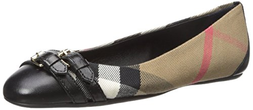 Burberry Women's Avonwick Black 35.5 (US Women's 5.5) B - Medium