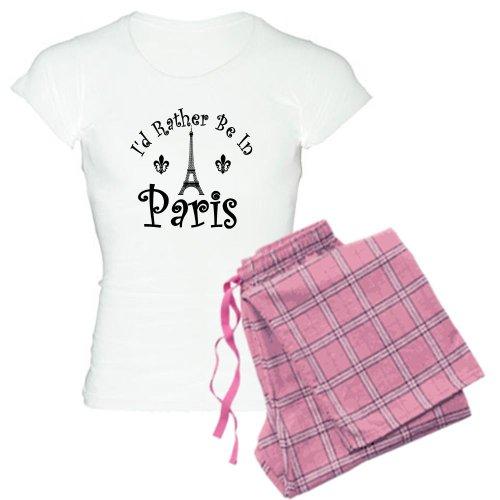 (CafePress - Paris Women's Light Pajamas - Womens Novelty Cotton Pajama Set, Comfortable PJ)