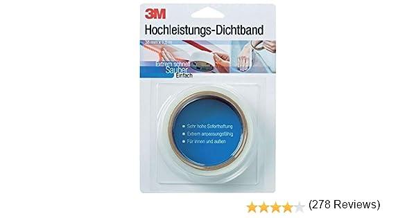 3M DICHT38, Cinta de sellado de alto rendimiento de 38 mm x 1.5 ...