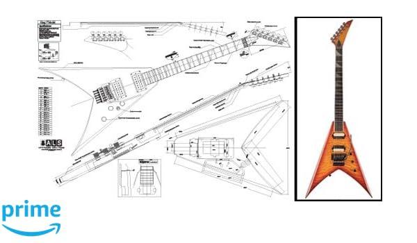 Amazon.com: Plan of Jackson King V Electric Guitar - Full ... on