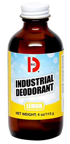 Big D 320 Industrial Deodorant, Lemon Fragrance, 4 oz (Pack of 12) - Lasts up to 90 Days - Wick air freshener Ideal for restrooms, Patient Care, Smoking Areas, Musty Rooms ()