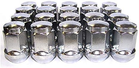 20 zinco per ruote m12 x 1,5 x 34 sw19 ke//60 ° CERCHI IN LEGA-CERCHI-Acciaio Cerchioni